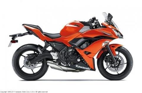 2017 Kawasaki Ninja 650R for sale in Madison, SD