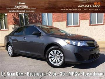 toyota camry for sale tupelo ms