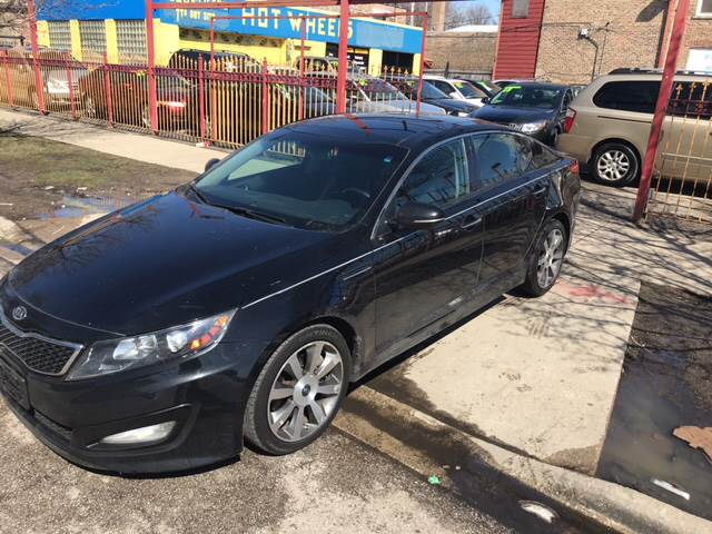 2012 Kia Optima For Sale At Hot Wheels Inc In Chicago IL