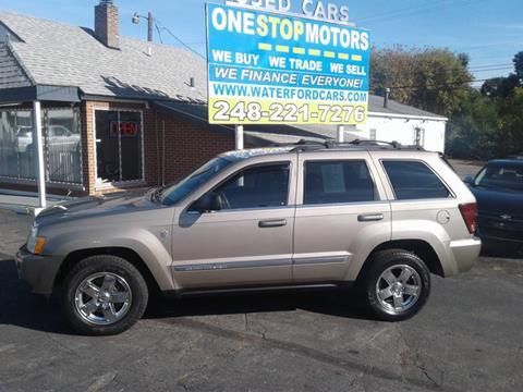 2006 Jeep Grand Cherokee for sale in Pontiac, MI