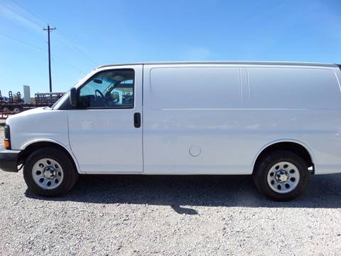 2012 Chevrolet Express Cargo for sale at AUTO FLEET REMARKETING, INC. in Van Alstyne TX