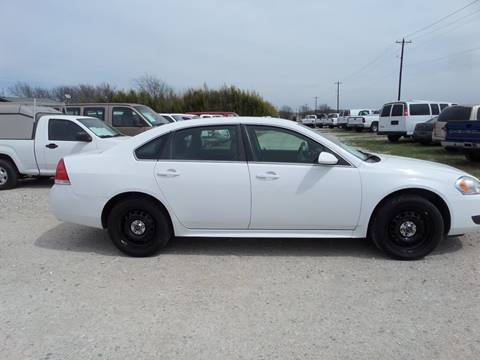 2014 Chevrolet Impala Limited Police for sale at AUTO FLEET REMARKETING, INC. in Van Alstyne TX