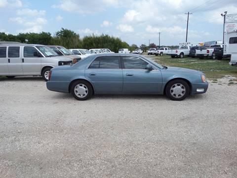 2000 Cadillac DeVille for sale at AUTO FLEET REMARKETING, INC. in Van Alstyne TX