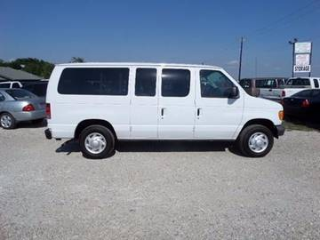 2007 Ford E-Series Wagon for sale at AUTO FLEET REMARKETING, INC. in Van Alstyne TX