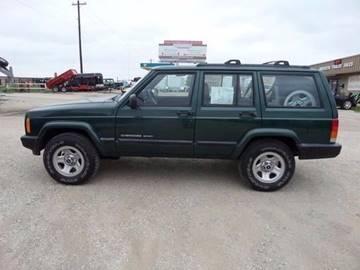 2001 Jeep Cherokee for sale at AUTO FLEET REMARKETING, INC. in Van Alstyne TX