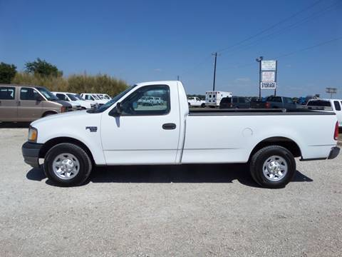 2003 Ford F-150 for sale at AUTO FLEET REMARKETING, INC. in Van Alstyne TX