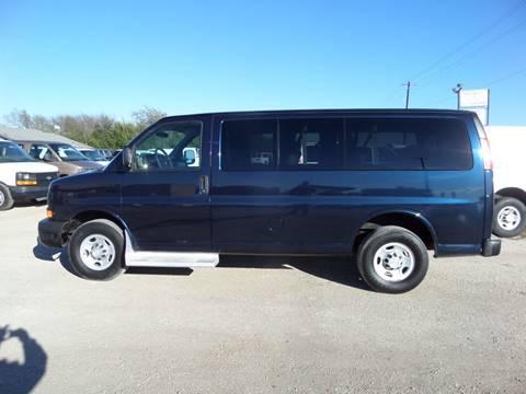 2010 Chevrolet Express Passenger for sale in Mckinney, TX