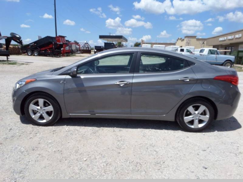 2013 Hyundai Elantra for sale at AUTO FLEET REMARKETING, INC. in Van Alstyne TX