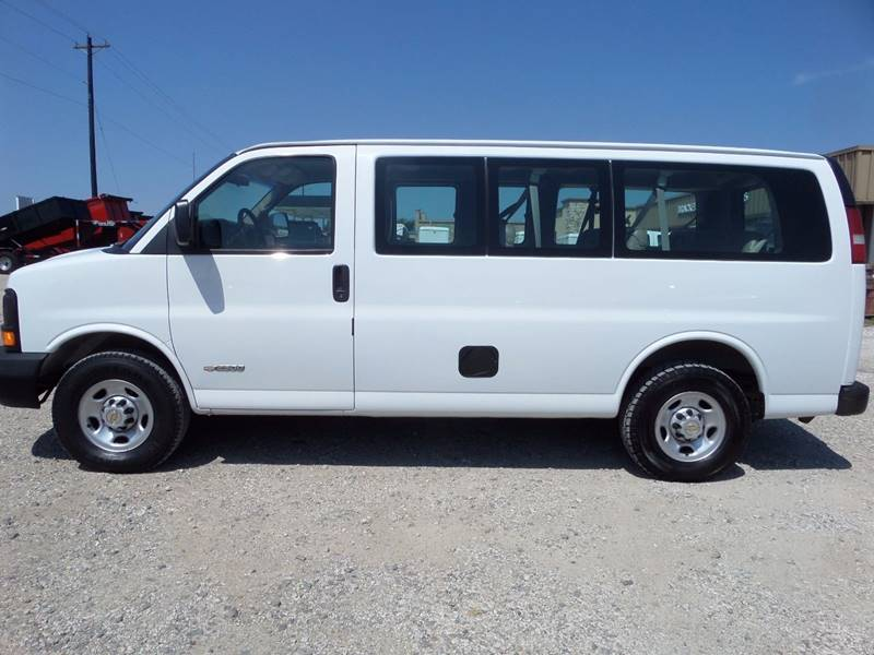 2004 Chevrolet Express Passenger 2500 Ls In Mckinney Tx Auto