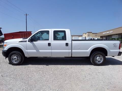 2011 Ford F-250 Super Duty for sale at AUTO FLEET REMARKETING, INC. in Van Alstyne TX