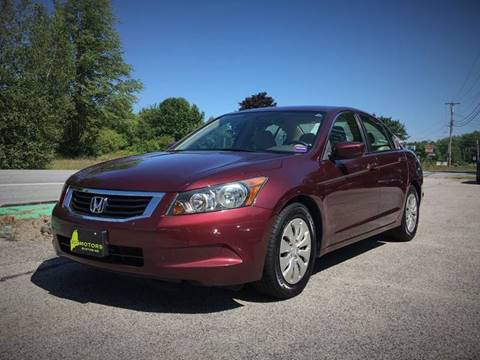 2009 Honda Accord for sale in Buxton, ME