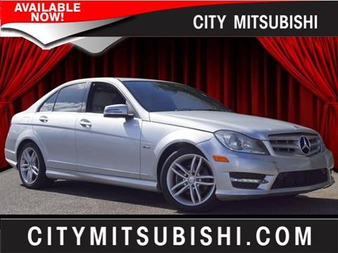 2012 Mercedes-Benz C-Class for sale in Jacksonville, FL