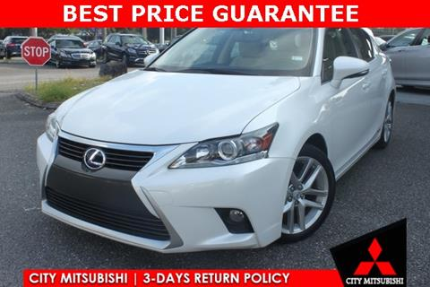 2015 Lexus CT 200h for sale in Jacksonville, FL