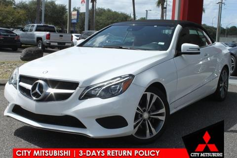 2016 Mercedes-Benz E-Class for sale in Jacksonville, FL