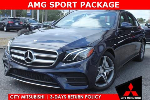 2017 Mercedes-Benz E-Class for sale in Jacksonville, FL