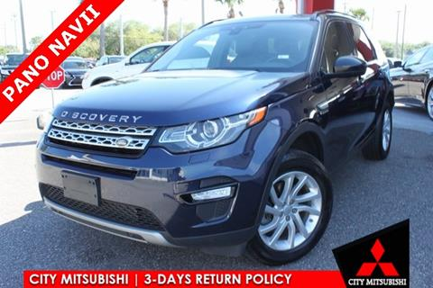 2016 Land Rover Discovery Sport for sale in Jacksonville, FL