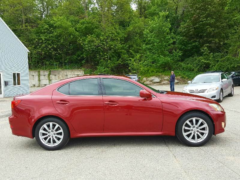 2006 Lexus IS 250 for sale at AUTOFINDERS LLC in Laconia NH