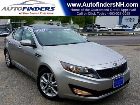 2011 Kia Optima for sale at AUTOFINDERS LLC in Laconia NH