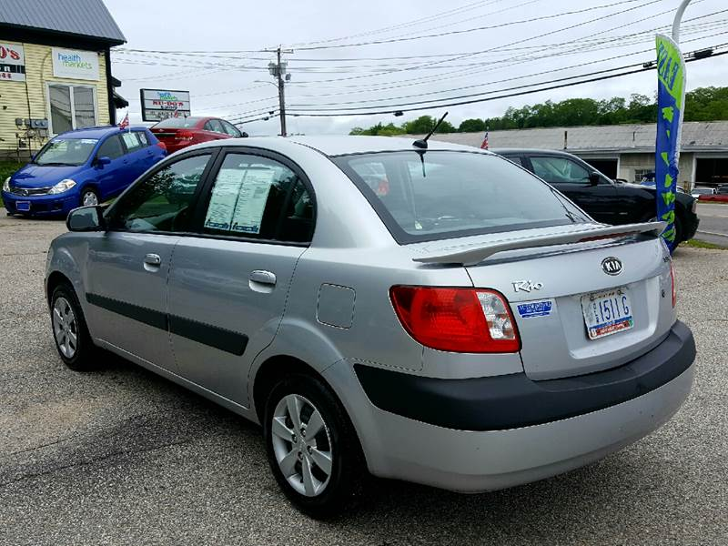 2008 Kia Rio for sale at AUTOFINDERS LLC in Laconia NH