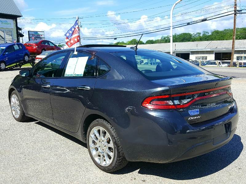 2013 Dodge Dart for sale at AUTOFINDERS LLC in Laconia NH