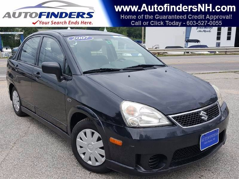 2007 Suzuki Aerio for sale at AUTOFINDERS LLC in Laconia NH