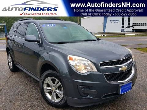 2011 Chevrolet Equinox for sale at AUTOFINDERS LLC in Laconia NH