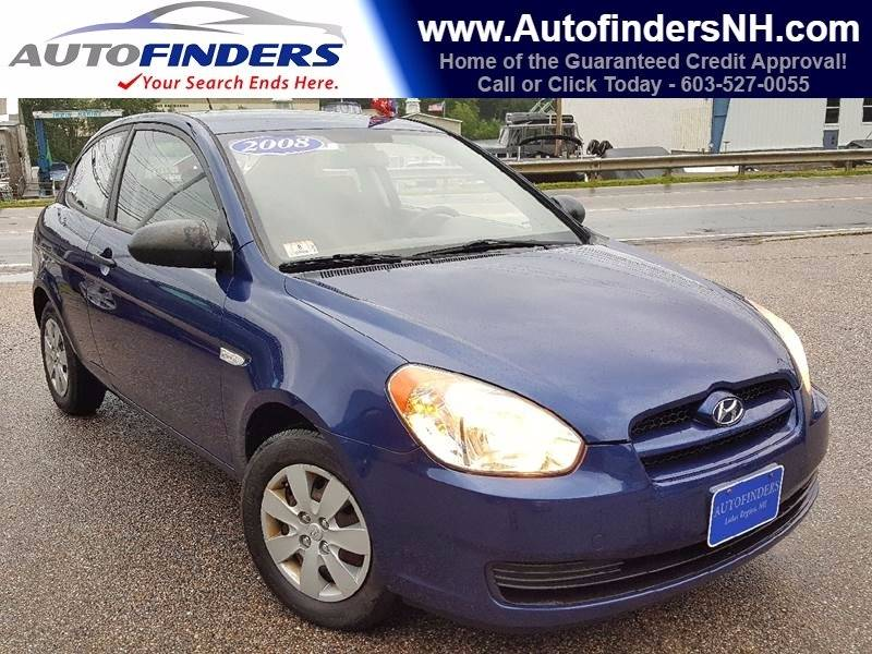 2008 Hyundai Accent for sale at AUTOFINDERS LLC in Laconia NH