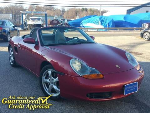 2002 Porsche Boxster for sale at AUTOFINDERS LLC in Laconia NH