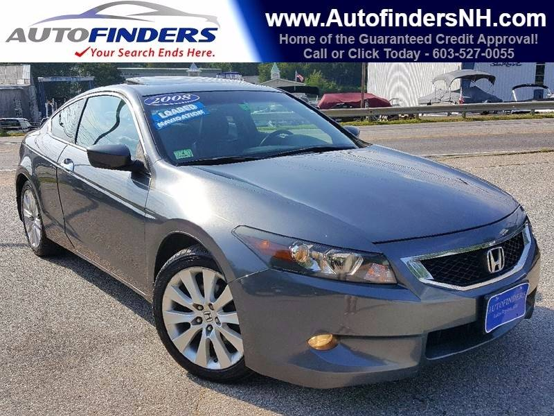 2008 Honda Accord for sale at AUTOFINDERS LLC in Laconia NH