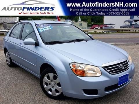 2008 Kia Spectra for sale at AUTOFINDERS LLC in Laconia NH