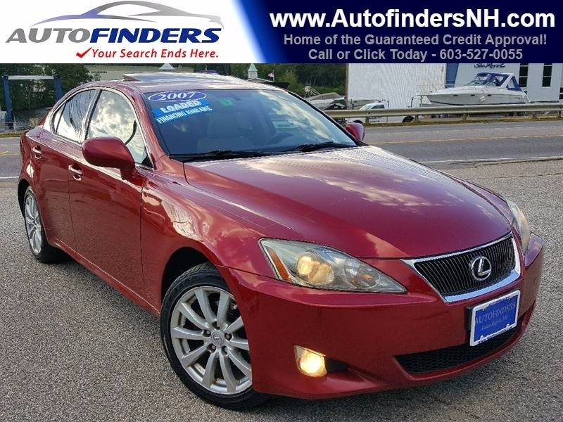 2007 Lexus IS 250 for sale at AUTOFINDERS LLC in Laconia NH