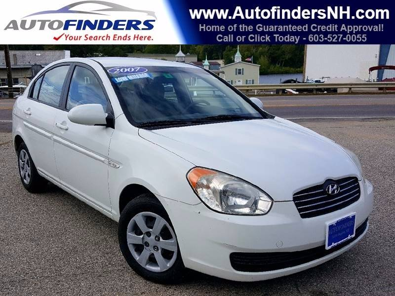 2007 Hyundai Accent for sale at AUTOFINDERS LLC in Laconia NH