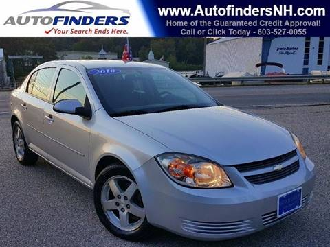 2010 Chevrolet Cobalt for sale at AUTOFINDERS LLC in Laconia NH