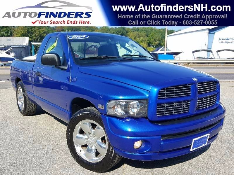 2004 Dodge Ram Pickup 1500 for sale at AUTOFINDERS LLC in Laconia NH