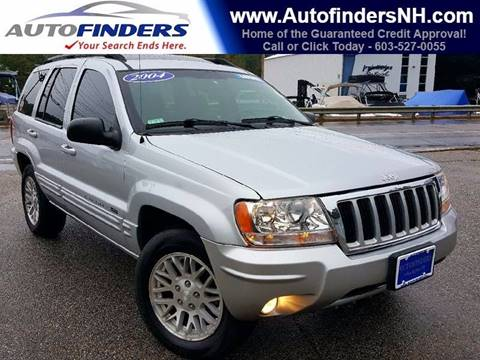 2004 Jeep Grand Cherokee for sale at AUTOFINDERS LLC in Laconia NH