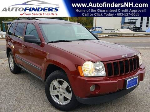 2007 Jeep Grand Cherokee for sale at AUTOFINDERS LLC in Laconia NH