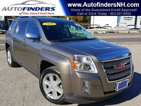 2011 GMC Terrain for sale at AUTOFINDERS LLC in Laconia NH
