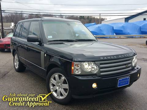 2008 Land Rover Range Rover for sale at AUTOFINDERS LLC in Laconia NH