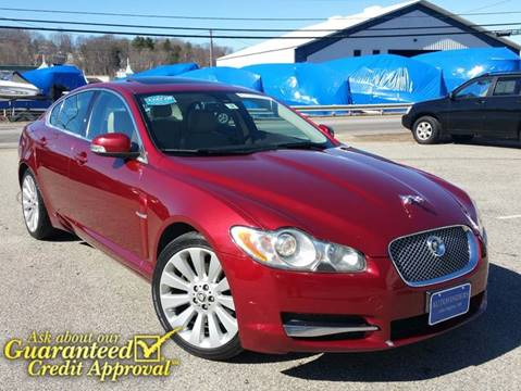 2009 Jaguar XF for sale at AUTOFINDERS LLC in Laconia NH