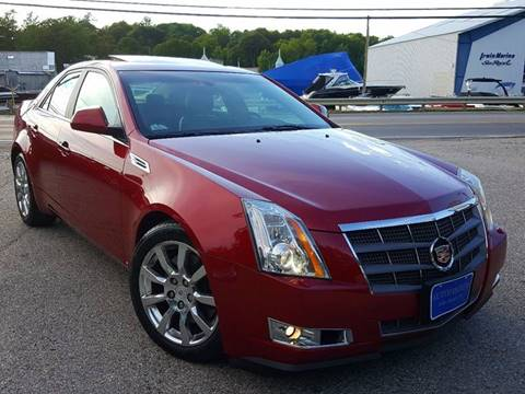2008 Cadillac CTS for sale at AUTOFINDERS LLC in Laconia NH