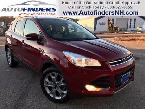 2014 Ford Escape for sale at AUTOFINDERS LLC in Laconia NH