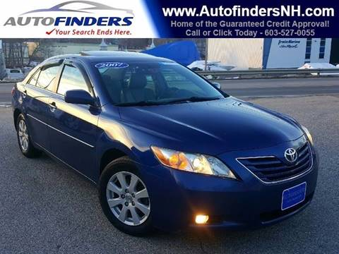2007 Toyota Camry for sale at AUTOFINDERS LLC in Laconia NH