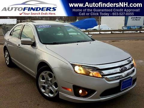 2010 Ford Fusion for sale at AUTOFINDERS LLC in Laconia NH
