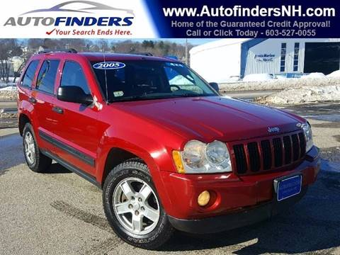 2005 Jeep Grand Cherokee for sale at AUTOFINDERS LLC in Laconia NH