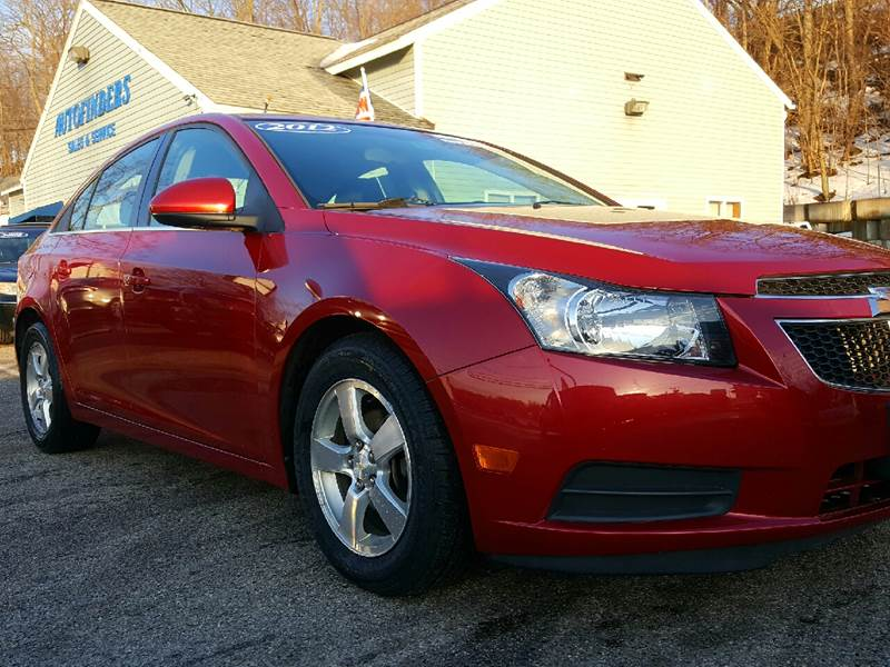2012 Chevrolet Cruze for sale at AUTOFINDERS LLC in Laconia NH