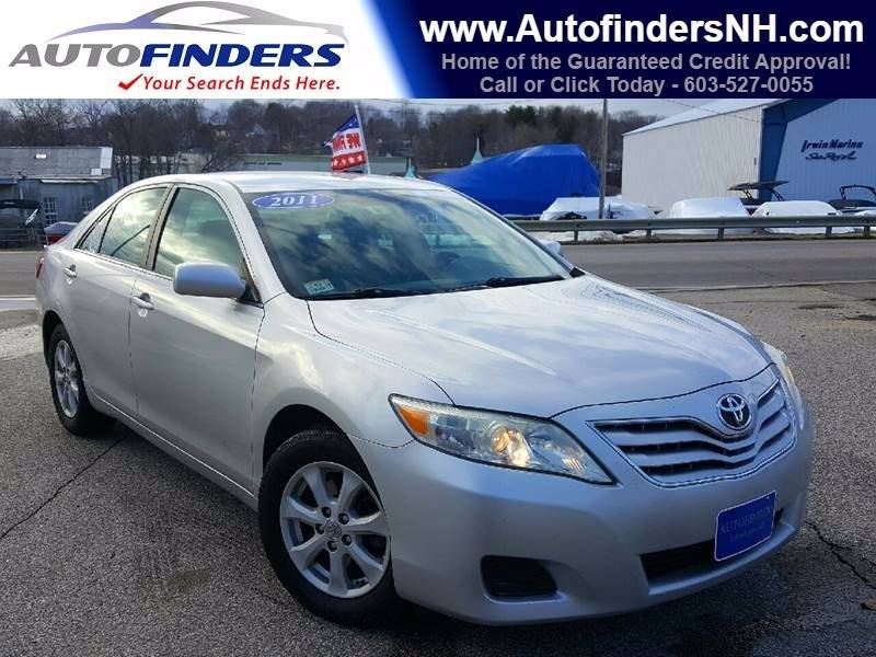 2011 Toyota Camry for sale at AUTOFINDERS LLC in Laconia NH