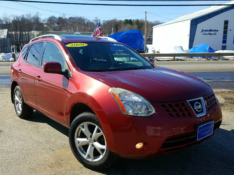 2009 Nissan Rogue for sale at AUTOFINDERS LLC in Laconia NH