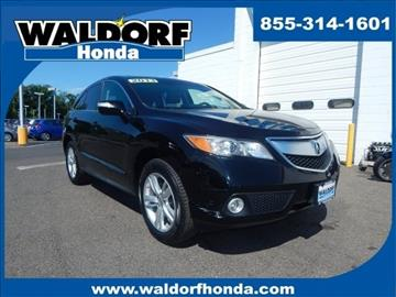 2013 Acura RDX for sale in Waldorf, MD
