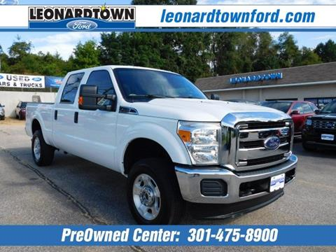 2016 Ford F-250 Super Duty for sale in Waldorf, MD
