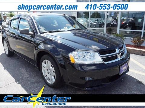 2014 Dodge Avenger for sale in Waldorf, MD